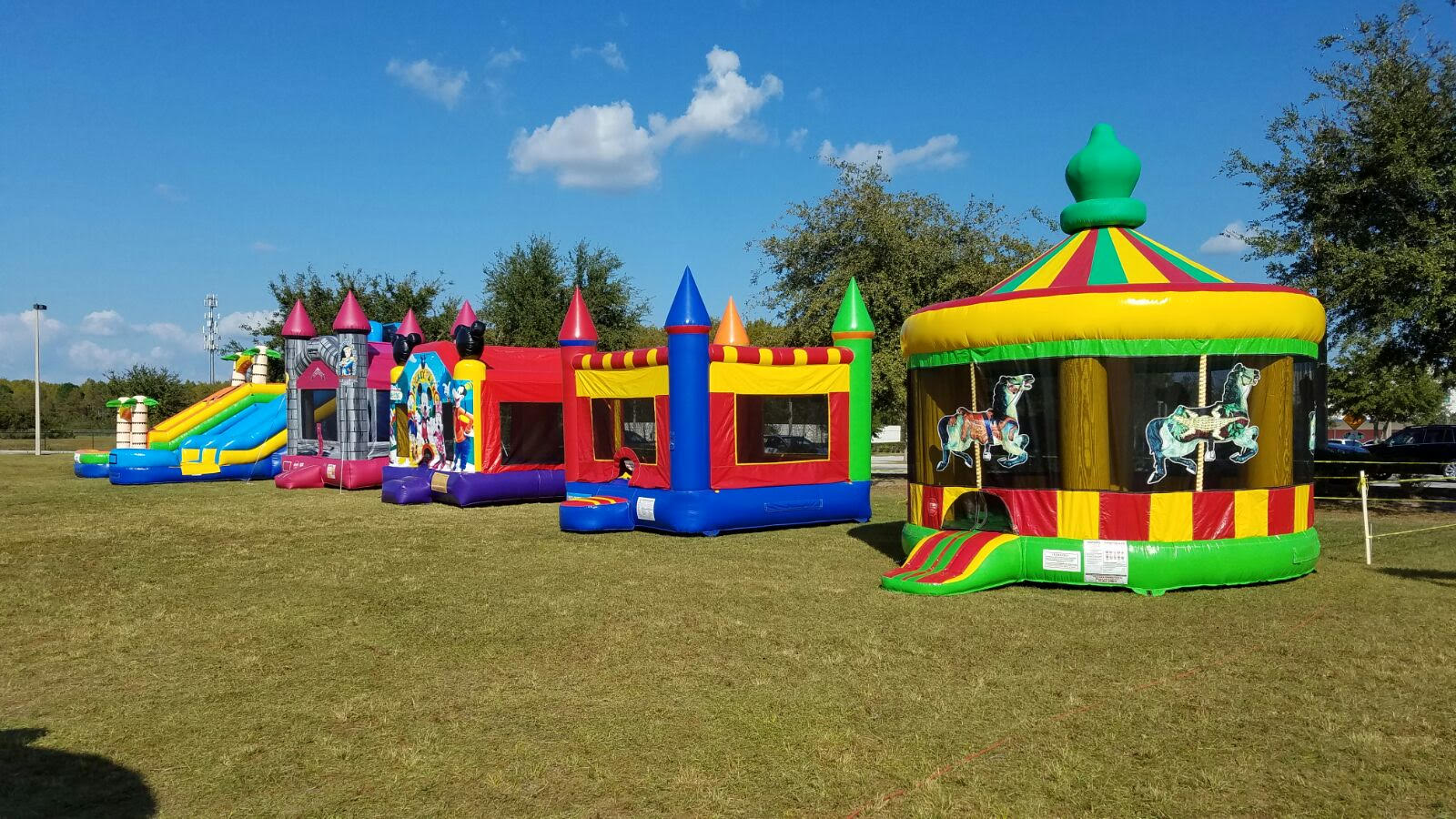 Benefits of Bounce House Rentals – Global Warming